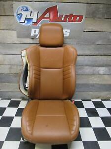 Dodge Charger Srt Hellcat Right Passenger Seat Brown Leather