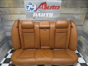 2015 2018 Dodge Charger 2nd Rear Seat Brown Leather Oem