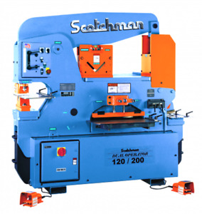 Scotchman 120 Ton 5 station Dual Operator Ironworker Do 120 200 24m