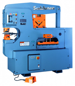 Scotchman 120 Ton 3 station Hydraulic Ironworker 12012 24m
