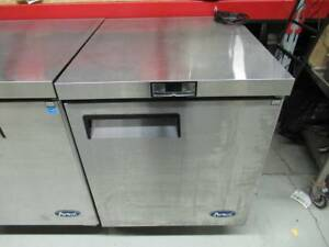 Atosa 27 Undercounter Freezer Stainless Steel