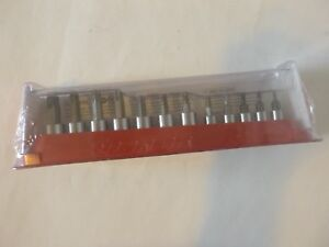 New Snap on 1 4 3 8 Dr 12 Pc Torx Bit Socket Driver Set 212eftxy T8 t55