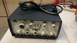 Vintage Wavetek Model 148a Sg 1171 u Signal Function Generator 20mhz Am fm pm