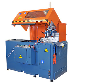 Scotchman 20 Automatic Up cut Non ferrous Cold Saw With Drill Gaa 500 90 Dt 20