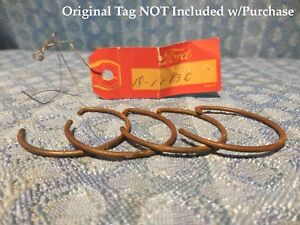 1932 33 34 35 36 37 Ford V8 Pass Truck Nos Pkg Of 4 Generator Front Snap Rings