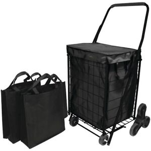 Helping Hand r Fq39908bk Helping Hand r Stair Climb Cart With Liner
