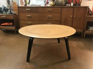 Rare Early Eames Ctw Herman Miller Evans Coffee Table Mid Century