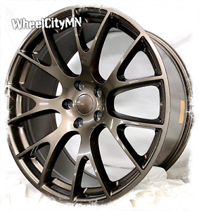 20x11 20x9 5 Staggered Bronze Hellcat Dodge Charger Srt Oe Replica Rims 5x115