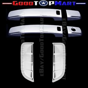 For 2005 2010 2011 2012 Nissan Pathfinder Chrome 4 Door Handle Covers With Smart