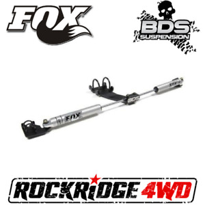 Fox Performance 2 0 Dual Steering Stabilizer Kit For 07 18 Jeep Wrangler Jk