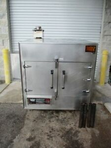 2006 Southern Pride Spk500 Rotisserie Smoker Natural Gas Wood Fired