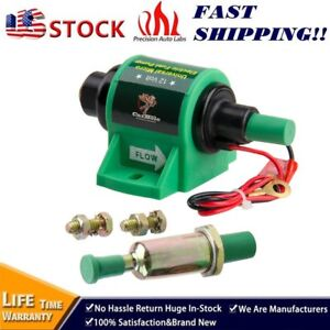 Universal 12v Micro 4 7 Psi Electric Fuel Transfer Pump Diesel 5 16 Inch 35 Gph