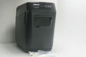 Fellowes Automax 130c 130 sheet Cross Cut Auto Feed Shredder Jam Protect 4680001