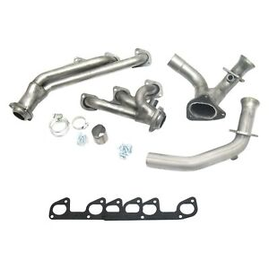For Ford Ranger 95 97 Exhaust Headers Cat4ward Stainless Steel Natural Short