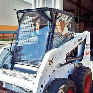 Bobcat 963 Skid Steer Cab Enclosure Kit Stay Dry This Winter