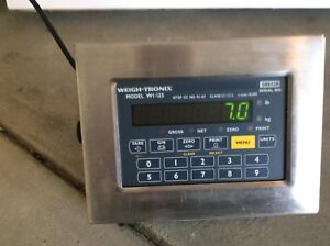 Avery Weigh tronix Wi 125 Digital Scale Indicator Tested
