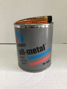 Usc All Metal Aluminum Filled Auto Body Filler 14060 Quart