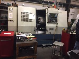 1998 Hwacheon Hi eco31a Cnc Turning Center Fanuc need To Move From Building