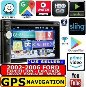 02 03 04 05 06 Ford Expedition Explorer Lincoln Aviator Navigator W Wifi Stereo
