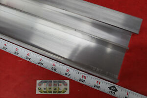 2 Pieces 2 1 4 X 1 X 1 8 Wall 6061 T6 Aluminum Channel 60 Long Mill Stock