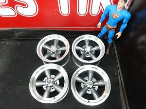 15 X 8 Chevy Gmc 1500 Truck Torq Style Legend Wheels 15x8 Mag C10 5on5 5x5 Rims