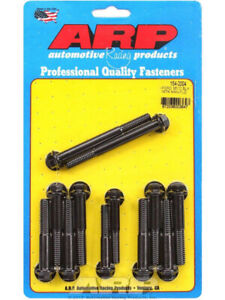 Arp Intake Manifold Bolt Kit Hex Head Black Ford 302 351 Cleveland 154 2004