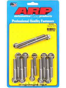 Arp Intake Manifold Bolt Hex Head Stainless Ford 302 351 Cleveland 454 2004