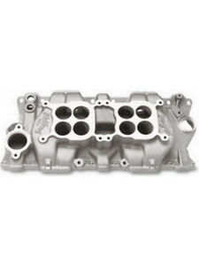 Edelbrock Dual Quad Intake Manifold Small Block Chevy 1500 5500 Rpm 5425