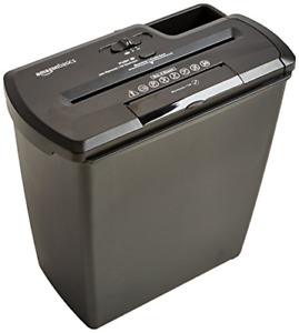 Amazonbasics 8 sheet Strip cut Paper Cd And Credit Card Shredder