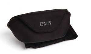 Bmw Genuine Glasses Sunglasses Case Holder W Visor Strap New