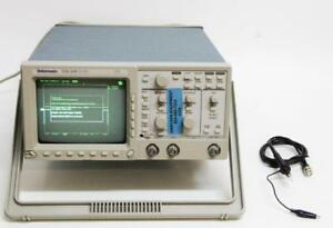 Tektronix Tds 310 Two Channel Digitizing Oscilloscope 50mhz 200ms s 6429 C