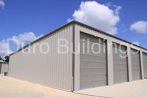 Duro Mini Self Storage Steel Prefab Structure 32x84x12 Metal Building Kit Direct
