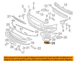 Volvo Oem 08 13 Xc70 Front Bumper Grille Grill outer Grille Right 30678690