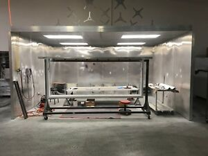 Paint Spray Booth Welding Booth Powder Coating 16x12x8 W Filters