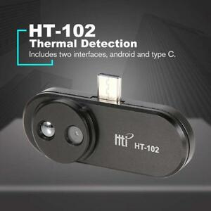 Ht 102 Usb Type c Infrared Camera Thermal Imager 640x480 For Android Phone Black