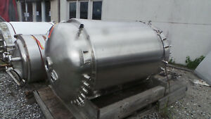 Precision Stainless Bioreactor 1000 Liter Batch Vacuum Sanitary Tank 316l Ss
