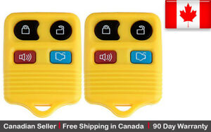 2x New Replacement Keyless Entry Remote Control Key Fob For Ford Lincoln Mazda