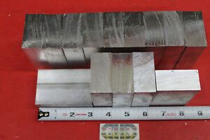 14 Pieces 1 X 2 Aluminum 6061 Flat Bar 3 Long Solid Extruded Plate Mill Stock