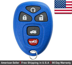 1x New Replacement Keyless Entry Remote Control Key Fob For Gm Chevy 22733524