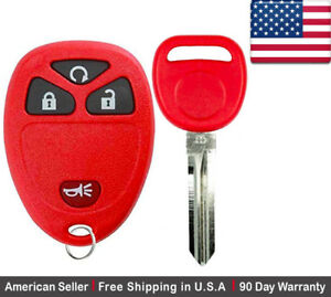 1x New Replacement Keyless Entry Remote Control Key Fob For Chevy Buick Pontiac