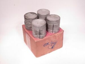 Engine Piston Set 040 Oversize Fits Austin A30 Morris Minor Sprite 1170 040