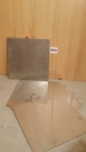 Stainless Steel 24 Gage 7 X 7 Plate Metal Sheet 304 316 Square One Piece