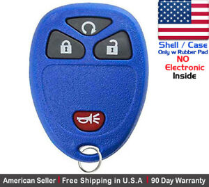 1x New Replacement Keyless Entry Remote Key Fob Case For Chevrolet Gmc Shell