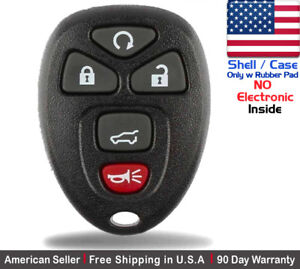 1x New Replacement Keyless Entry Remote Control Key Fob Case For Chevy Shell
