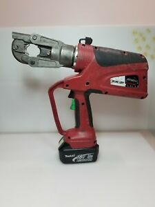 Burndy Pat600li Patroit Hydraulic Battery Operated Crimper No Charger