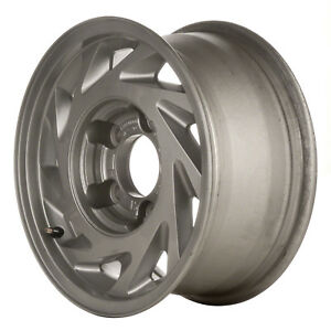 Oem Reconditioned 15x7 Alloy Wheel Sparkle Silver Full Face Painted 560 3040