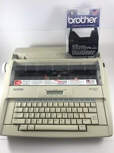 Brother Ml500 Electric Daisy Wheel Word Processing Typewriter Tested A