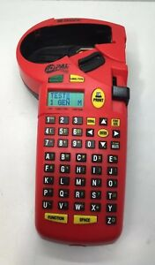 Brady Id Pal Labeling Tool Label Printer