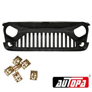 Bumper Grille Front For Jeep Wrangler