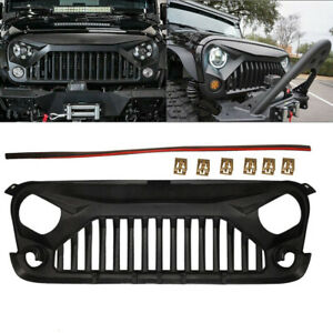 Bumper Grille Front For Jeep Wrangler Unlimited Rubicon Sport Utility 3 6l 3 8l
